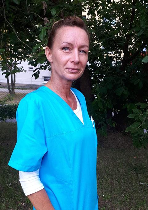 Pflegedienst Stralsund, Team, Krankenpflegehelferin Daniela