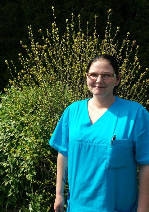 Pflegedienst Stralsund, Team, Schwesternhelferin Nicole