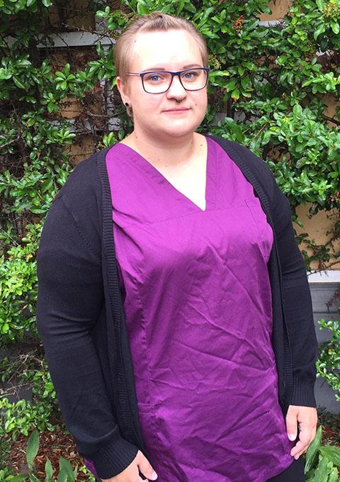 Pflegedienst Stralsund, Team, Schwesternhelferin Brigitte